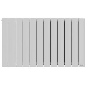 Radiateur OROSI Blanc 2000 W Long.97,80cm Haut.58,50cm Ép.13cm SAUTER - Gedimat.fr