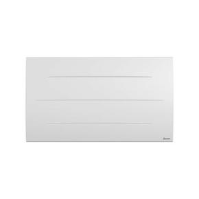 Radiateur à intertie sèche en pierre SIBAYAK Long.82,3cm Haut.47,8cm Ép.12,9cm coloris Blanc 1500W - Gedimat.fr