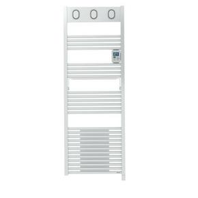 Radiateur sèche-serviettes MARAPI VENTILO Blanc 1750W SAUTER - Gedimat.fr