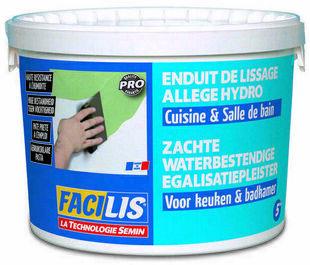 Enduit de lissage cuisine et bain - seau de 5kg - Gedimat.fr
