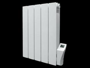 Radiateur à intertie fluide ARNO Blanc 900W Modèle droit Long.45cm Haut.58cm Ép.8 cm - Gedimat.fr