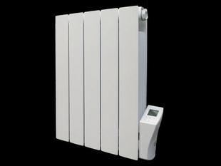 Radiateur à intertie fluide ARNO modèle droit Long.69cm Haut.58cm Ép.8 cm coloris Blanc 1500W - Gedimat.fr