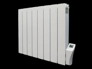Radiateur à inertie sèche PANARO Blanc 1000 W modèle droit DELTACALOR - Gedimat.fr