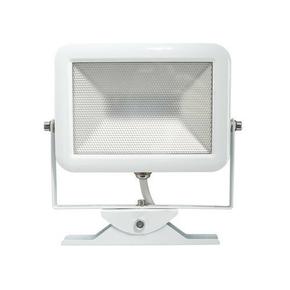 Projecteur slim LED 30W blanc Electraline - Gedimat.fr