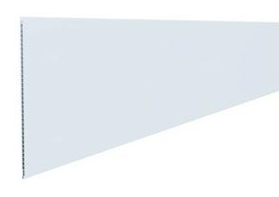 Lambris PVC alvéolaire alimentaire ép.8mm larg.250mm long.4000mm blanc - Gedimat.fr