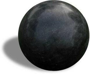 Sphere déco granit noir diam.30cm - Gedimat.fr
