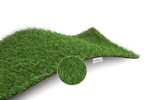 Gazon artificiel Haut.de fibre.15 mm - 2 x 3 m - Gedimat.fr