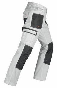 """Pantalon avec renforcements """"SMART"""" coloris Blanc Taille M - Gedimat.fr"""