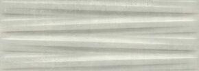 Décor satiné ELVEN CONCEPT, pate blanche, aspect très dénuancé, 25x70 cm, épaisseur 10,1 mm, boîte de 1,23 m², concept gris - Gedimat.fr