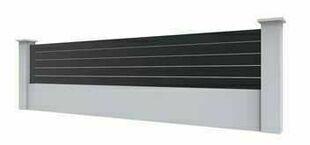 Lame Clôtures Aluminium Gris 7016 Long200 M Gedimatfr