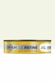 Peinture LE PATINE blanc colombe  - pot 0,150l - Gedimat.fr