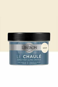 Peinture LE CHAULE mat kaolin  - pot 0,250l - Gedimat.fr
