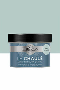 Peinture LE CHAULE mat bleu du nord  - pot 0,250l - Gedimat.fr