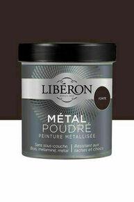 Peinture meubles métal poudré  mat fonte  - pot 0,5l - Gedimat.fr