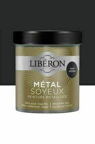 Peinture meubles métal soyeux noir  - pot 0,5l - Gedimat.fr