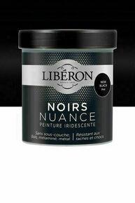 Peinture noirs nuance mat new black  - pot 0,5l - Gedimat.fr
