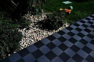 Dalle autoportante QUADRA 40 x 40 x 4,1 cm - Gedimat.fr