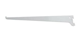 Console simple Entraxe 50mm L.400mm Charge max.55kg coloris Blanc - Gedimat.fr