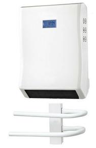 Soufflant sèche-serviette 2000W. 2 allures de chauffe 1000/2000W - Gedimat.fr