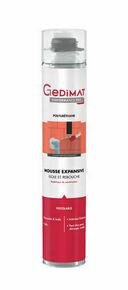 Mousse expansive pistolable 750 ml GEDIMAT PERFORMANCE PRO - Gedimat.fr