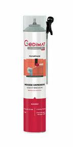 Mousse expansive manuelle 750 ml GEDIMAT PERFORMANCE PRO - Gedimat.fr