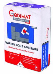 Mortier colle amélioré C2ET blanc 25 kg GEDIMAT PERFORMANCE PRO - Gedimat.fr