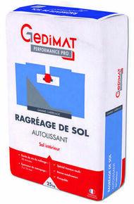 Ragréage de sol autolissant P3 25 kg GEDIMAT PERFORMANCE PRO - Gedimat.fr