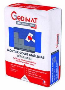 Mortier colle amélioré déformable C2S1 gris 25 kg GEDIMAT PERFORMANCE PRO - Gedimat.fr
