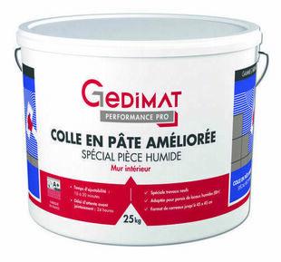 Colle pâte spécial pièce humide D2 25 kg GEDIMAT PERFORMANCE PRO - Gedimat.fr