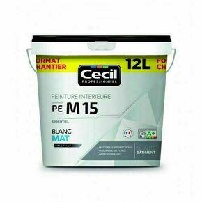 Peinture PE M15 essentiel mat blanc  - pot 12l - Gedimat.fr