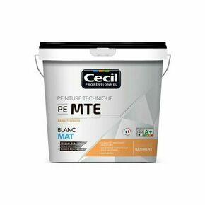 Peinture PE MTE sans tension mat blanc  - pot 10l - Gedimat.fr