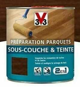 Sous couche et teinte parquets chêne moyen  - pot 0,75l - Gedimat.fr