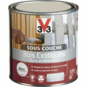 Sous couche bois exotique intérieur/extérieur incolore  - pot 0,5l - Gedimat.fr