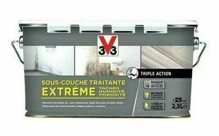 Sous couche traitante extrême blanc  - pot 2,5l - Gedimat.fr