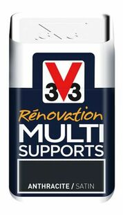 Peinture rénovation multi supports satin vert mousse  - pot 0,5l - Gedimat.fr
