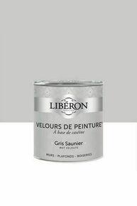 Velours de peinture gris saunier  - pot 0,5l - Gedimat.fr