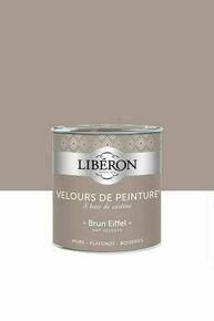 Velours de peinture brun eiffel  - pot 0,5l - Gedimat.fr