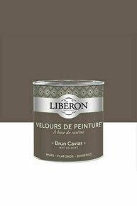 Velours de peinture brun caviar  - pot 0,5l - Gedimat.fr