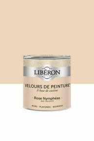 Velours de peinture rose nymphéas  - pot 0,5l - Gedimat.fr