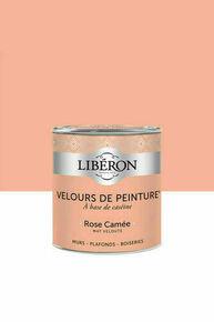 Velours de peinture rose camée  - pot 0,125l - Gedimat.fr
