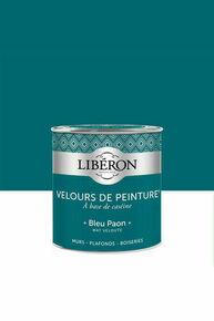 Velours de peinture bleu paon  - pot 0,125l - Gedimat.fr