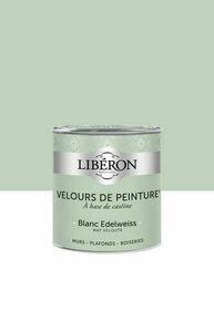 Velours de peinture blanc Edelweiss  - pot 0,5l - Gedimat.fr