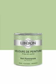 Velours de peinture vert pommeraie  - pot 0,125l - Gedimat.fr