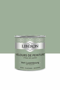 Velours de peinture vert luxembourg  - pot 2,5l - Gedimat.fr