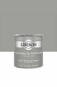Velours de peinture gris temps de pluie  - pot 0,5l - Gedimat.fr