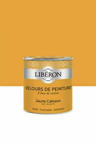 Velours de peinture jaune calisson  - pot 0,125l - Gedimat.fr