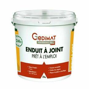 Enduit à joint pâte 24h 25 kg GEDIMAT PERFORMANCE PRO - Gedimat.fr