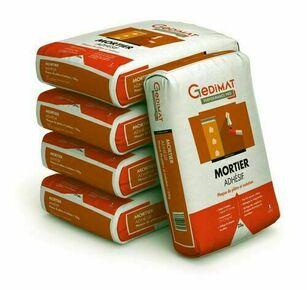 Mortier adhésif 25 kg GEDIMAT PERFORMANCE PRO - Gedimat.fr