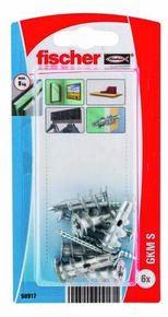 Cheville autoperceuse GKM S - blister de 6 pièces - Gedimat.fr