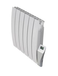 Radiateur intertie fluide ARNO CINTRÉ Long.69cm Haut.58cm Ép.10 cm coloris Blanc 1500W - Gedimat.fr